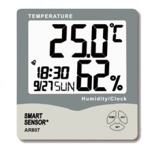 AR807 Цифровой влагомер-термометр